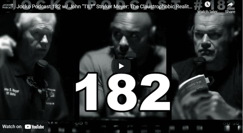 """Jocko Podcast 182 w/ John """"TILT"""" Stryker Meyer: The Claustrophobic Reality of The Vietnam Jungle"""
