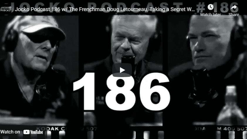 Jocko Podcast 186 w/ The Frenchman Doug Letourneau. Taking a Secret War to The Enemy